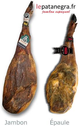 Differences entre un jambon et une épaule
