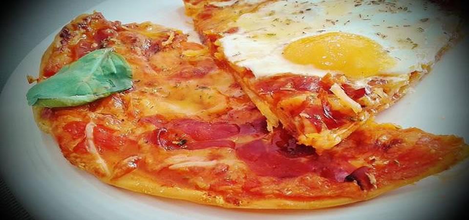 Pizza de Jambon Ibérique Pata Negra