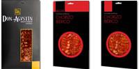 Chorizo pur bellota contre bellota contre cebo